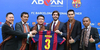 Advan Resmi Jadi Sponsor Barcelona