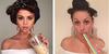 10 Foto Kocak Celeste Barber Tirukan Pose Seleb Hollywood