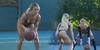 Video: Dua Wanita Seksi Berbikini Asyik Bermain Basket