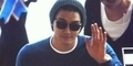 Aksi Super Junior Saat Akan Berangkat Menuju Indonesia