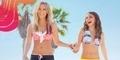 Ashley Tisdale & Sarah Hyland Bersaing dalam Bikini di Iklan Barunya