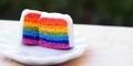 Asal Mula Munculnya Rainbow Cake Hingga Kini Populer