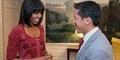 Persiapan Menjelang Pelantikan Obama, Michelle Pamer 'Poni' Baru
