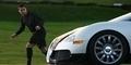 Adu Cepat Cristiano Ronaldo vs Supercar Bugatti Veyron, Siapa yang Menang?