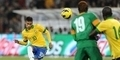Tendangan Neymar Bikin Pemain Zambia K.O
