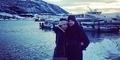 Foto Bulan Madu Shireen Sungkar dan Teuku Wisnu di Norwegia