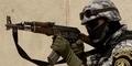 Ekstrem, Tentara Yaman Perbaiki Mobil Mogok dengan Senapan AK-47