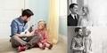 Mengharukan, Ayah dan Anak ini Jalani Sesi Pemotretan untuk Mengenang Sang Ibu