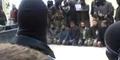 Video Al-Qaeda Eksekusi Mati Tujuh Pemberontak Suriah