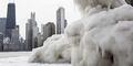 Video Suhu Dingin Melanda Amerika, Air Mendidih Langsung Membeku