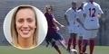 Gol Cantik Virginia Torrecilla Gelandang Seksi Barcelona