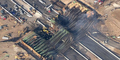 Jembatan California Ambruk Terbakar, Kerugian Mencapai Rp 360 Miliar