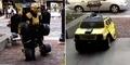 Manusia Transformers Mobil Hummer Hebohkan Michigan Amerika