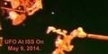 Penampakan UFO Bercahaya di Stasiun Luar Angkasa ISS