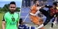 Video Striker Persiraja Akli Fairuz Meninggal Terkena Tendangan Kiper PSAP