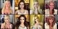 Foto Wajah Bintang Porno Tanpa Make-Up
