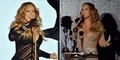 Mariah Carey Pamer Belahan Dada di World Music Awards 2014