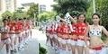 Pria Lebih Tertarik Piala Dunia, Wanita China Demo Lempar Bra