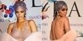 Tanpa Bra dan Gaun Transparan, Rihanna Nyaris Bugil di CFDA 2014