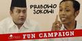 Video Lucu Fun Campaign Prabowo Jokowi