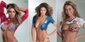 Wags Seksi Body Painting Jersey Piala Dunia