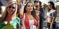 Foto Suporter Seksi Piala Dunia 2014