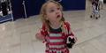 Gadis Cilik Amerika Kagum Dengar Suara Azan