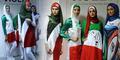 Iran Luncurkan Busana Muslimah Bertema Piala Dunia 2014