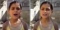 Video Gadis Cilik Palestina: 'Jangan Bunuh Saya, Berilah Saya Kesempatan Hidup'