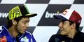 Akhirnya Valentino Rossi Kalahkan Marc Marquez di GP Ceko 2014