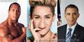 Foto Ketika Selebriti Hollywood Tak Memiliki Mulut