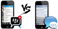 Blackberry Ajak Pengguna iMessage 'Move On' Ke BBM