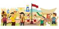 Google: Hari Kemerdekaan Indonesia 69