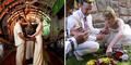 Pasangan Pengantin Inggris Menikah dengan 66 Tradisi Berbeda