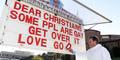 Pendeta Australia Sampaikan Khotbah Kontroversial dengan Papan Pengumuman