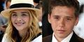 Putra David Beckham Kencani Chloe Moretz