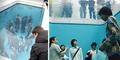 Sensasi Tenggelam di Kolam Renang Tanpa Air Karya Leandro Erlich