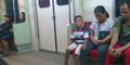 Tolak Berikan Kursi untuk Penumpang KRL Tunanetra, 2 Pemuda Tuai Kecaman