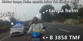 Video Aksi Kejar-Kejaran Ibu-Ibu Nekat Terobos Jalan Tol dengan Polisi