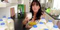 Sandra Heap, Wanita Inggris ini Minum 10 Liter Susu Per Hari