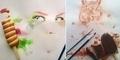 Seniman Irak Othman Toma Ciptakan Lukisan dari Es Krim!