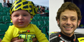 Wright, Bocah 1 Tahun Fans Berat Valentino Rossi Hebohkan Sirkuit MotoGP