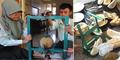 Alat Pengupas Durian Otomatis Kreasi Siswa SMP di Magelang