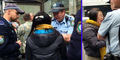 Antrean Pembelian iPhone 6 Dipotong, Wanita Ini Menangis Diusir Polisi