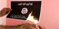 Burn ISIS Flag Challenge, Tantangan Bakar Bendera ISIS, Berani Coba?