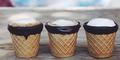 Coffee Cone, Cangkir Kopi Yang Bisa Dimakan