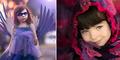 Foto Cantik Violet, Gadis Cilik Tanpa Tangan Menjelma Jadi Peri