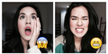 Foto Selfie Cantik Raisa Tirukan Emoticon