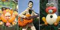 Foto Uniknya Karya Seni dari Labu, dari Sapi Hingga Elvis Presley