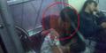Heboh, Foto Wanita Berjilbab Berciuman di Gerbong Khusus KRL Comuter